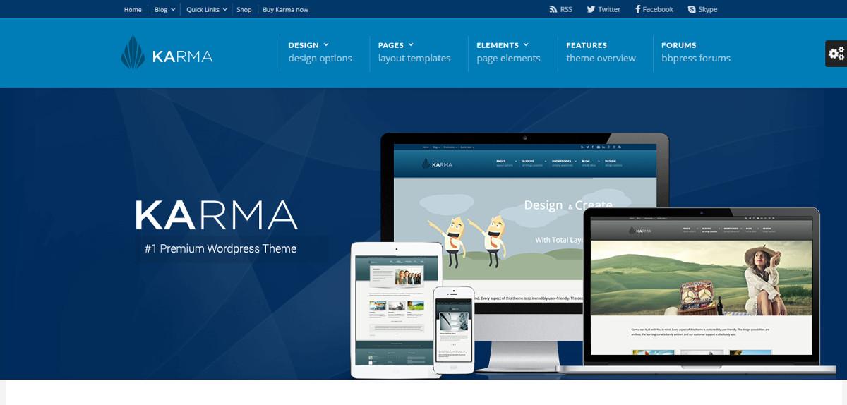 """Karma WordPress -teema """"leveys ="""" 1200 """"korkeus ="""" 574"""