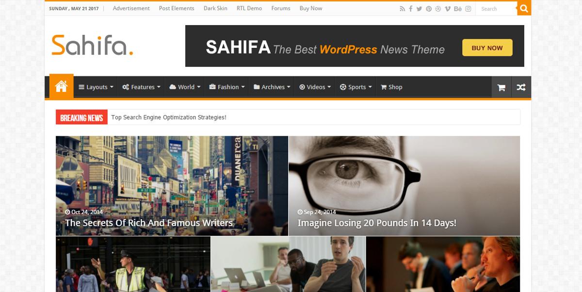 Sahifa WordPress -teema
