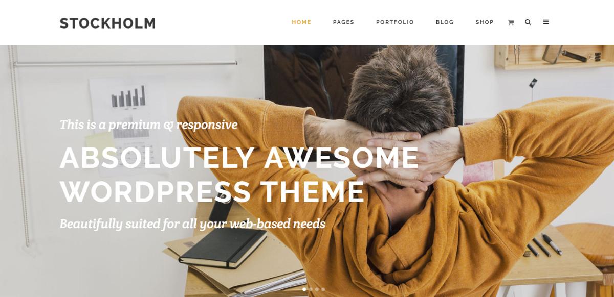 """Tukholman WordPress-teema """"leveys ="""" 1200 """"korkeus ="""" 582"""