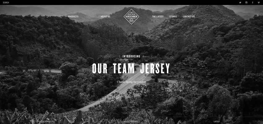 Kirschner Brasil Sport Fitness Diseño web Inspiración ui ux