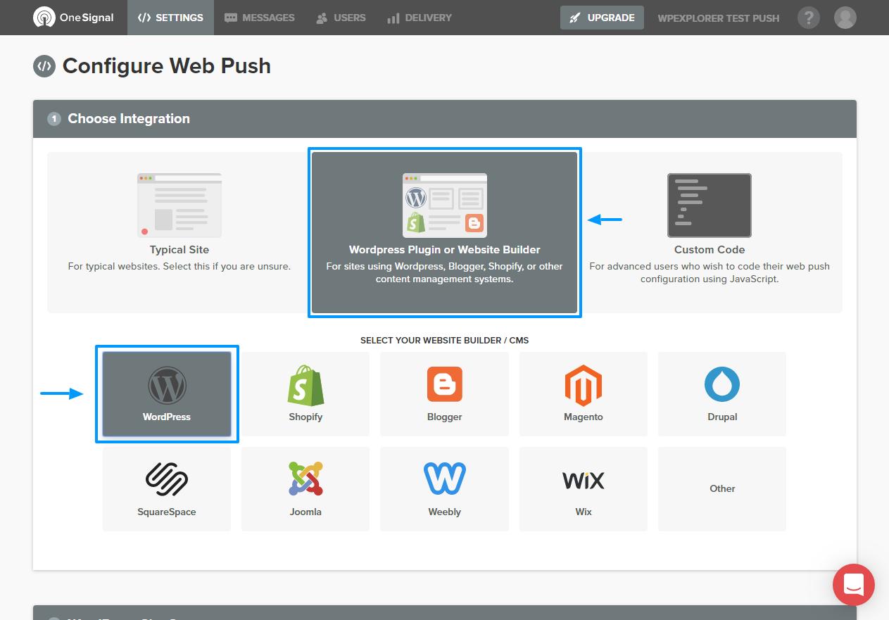 """Push bildirişlərini WordPress saytınıza necə əlavə etmək olar 5""""width ="""" 1263 """"height ="""" 881"""