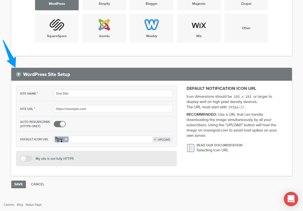 """Push bildirişlərini WordPress saytınıza necə əlavə etmək olar 6""""width ="""" 1263 """"height ="""" 881"""