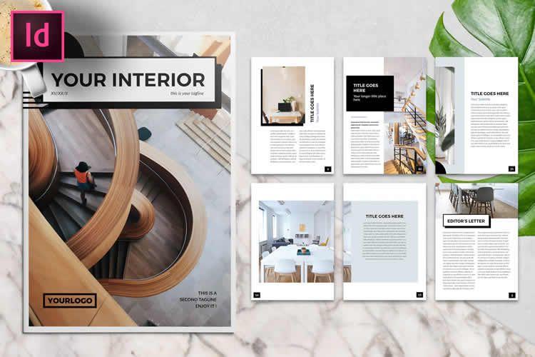 10 mẫu brochure miễn phí cho Adobe InDesign 1