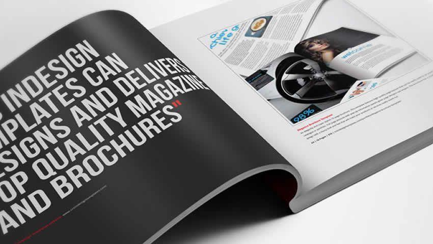 Mẫu sách giới thiệu sản phẩm InDesign