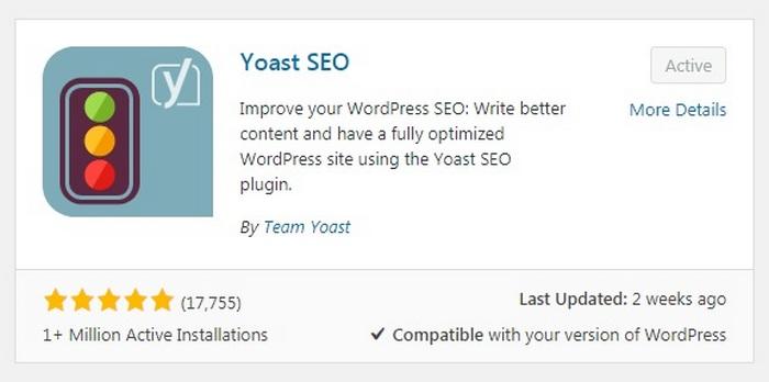 Errores de SEO WordPress Yoast