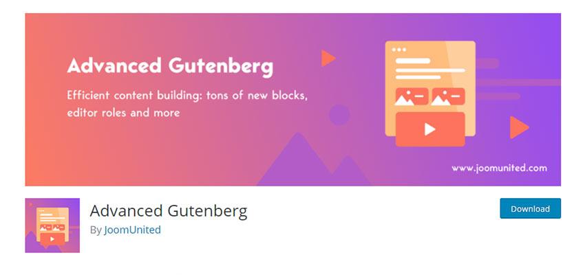 Biểu ngữ cho Gutenberg tiên tiến