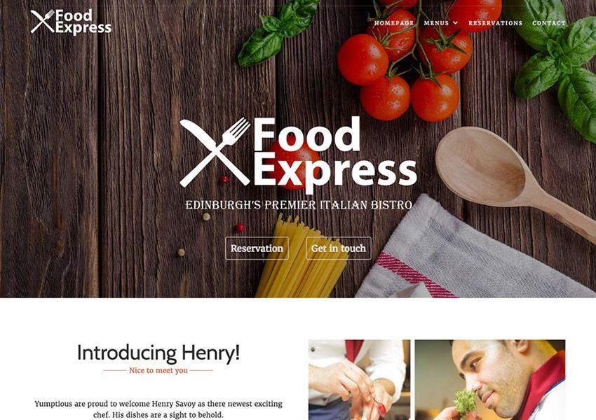 Thể hiện miễn phí chủ đề wordpress wp đáp ứng thực phẩm nhà hàng ẩm thực lối sống ẩm thực