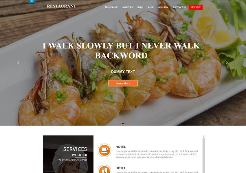 miễn phí wordpress wp chủ đề tiếp nhận thực phẩm nhà hàng ẩm thực lối sống sành ăn