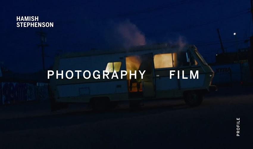 Hamish Stephenson nhiếp ảnh gia danh mục đầu tư máy ảnh trang web thiết kế web cảm hứng ui ux