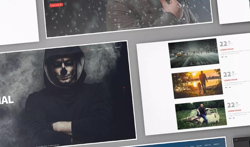 Alex Zane nhiếp ảnh gia danh mục đầu tư máy ảnh trang web thiết kế web cảm hứng ui ux