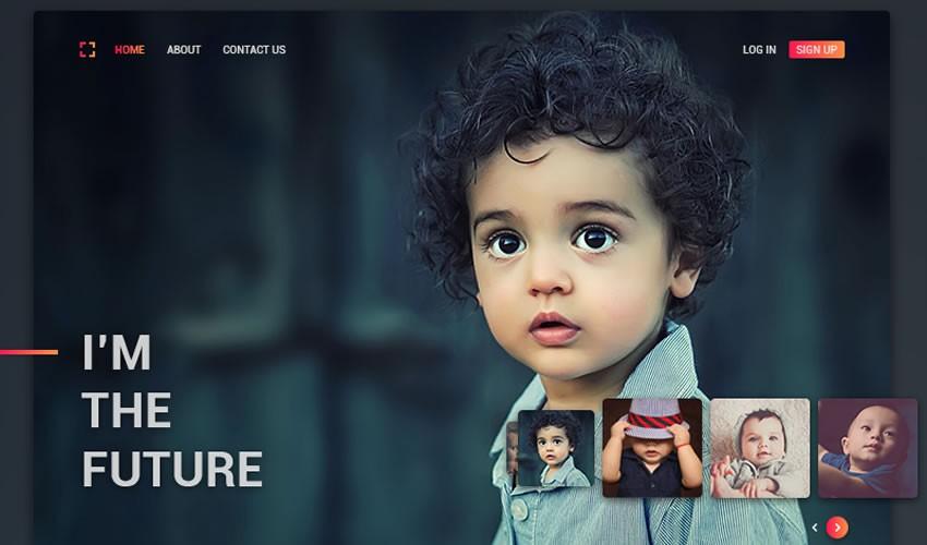 Sujeet Mishra nhiếp ảnh gia danh mục đầu tư máy ảnh trang web thiết kế web cảm hứng ui ux