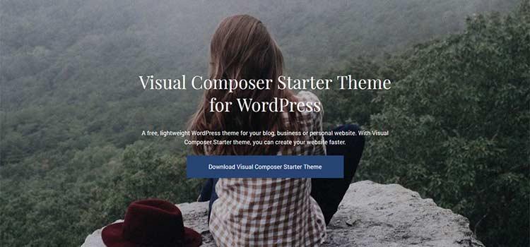 Téma Visual Composer Starter