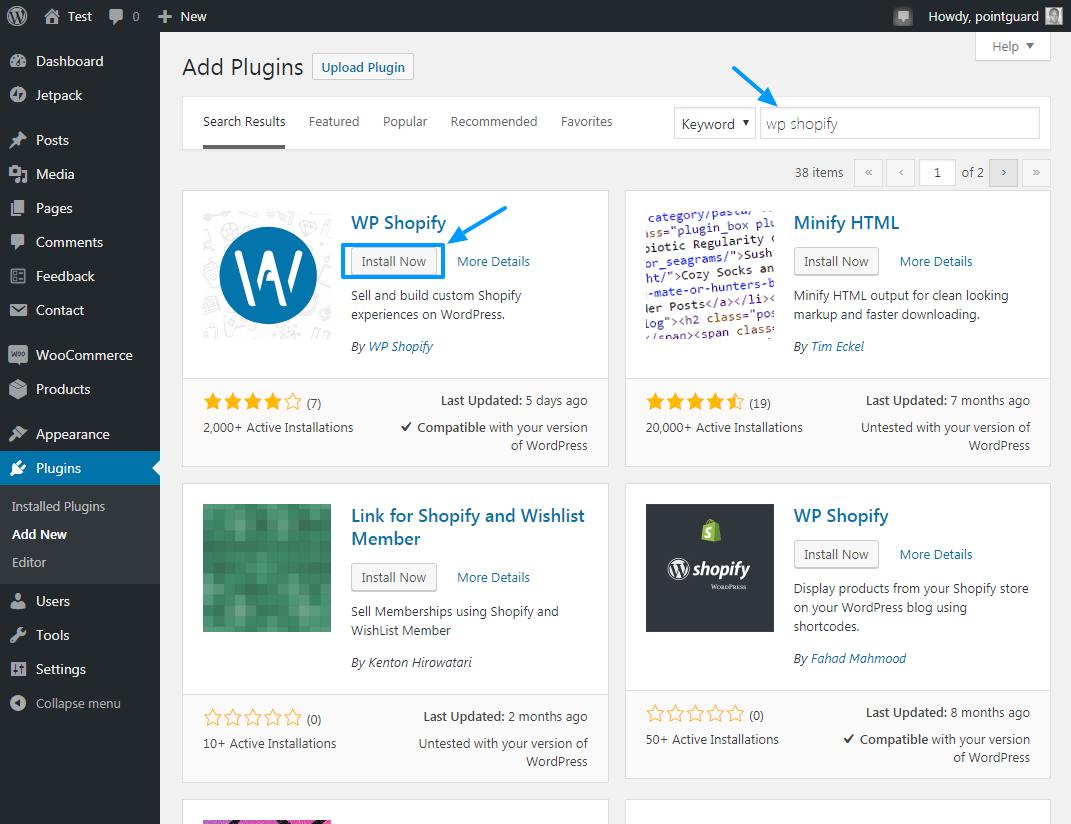 Shopify-ni WP Shopify ilə WordPress-ə necə əlavə etmək olar 3