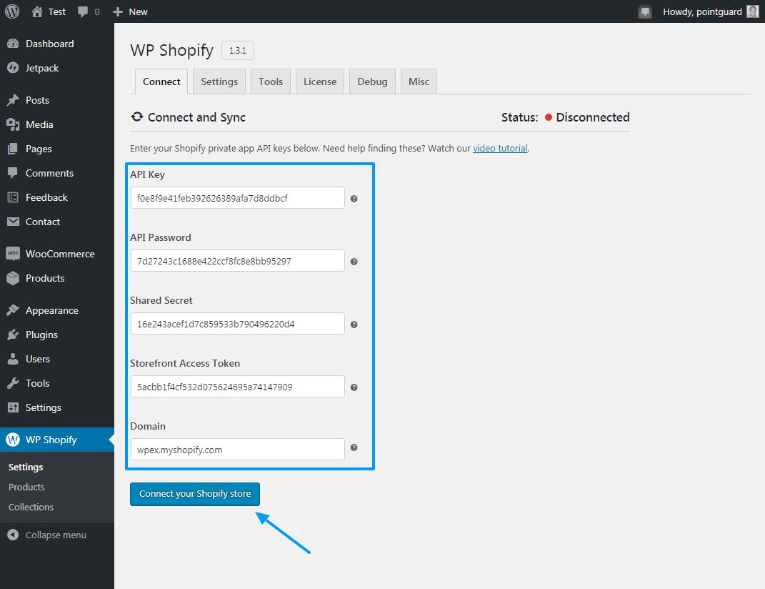 Shopify-ni WP Shopify ilə WordPress-ə necə əlavə etmək olar 12