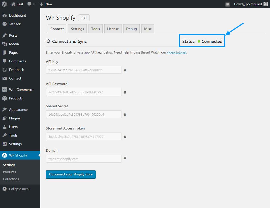 Shopify-ni WP Shopify ilə WordPress-ə necə əlavə etmək olar 14