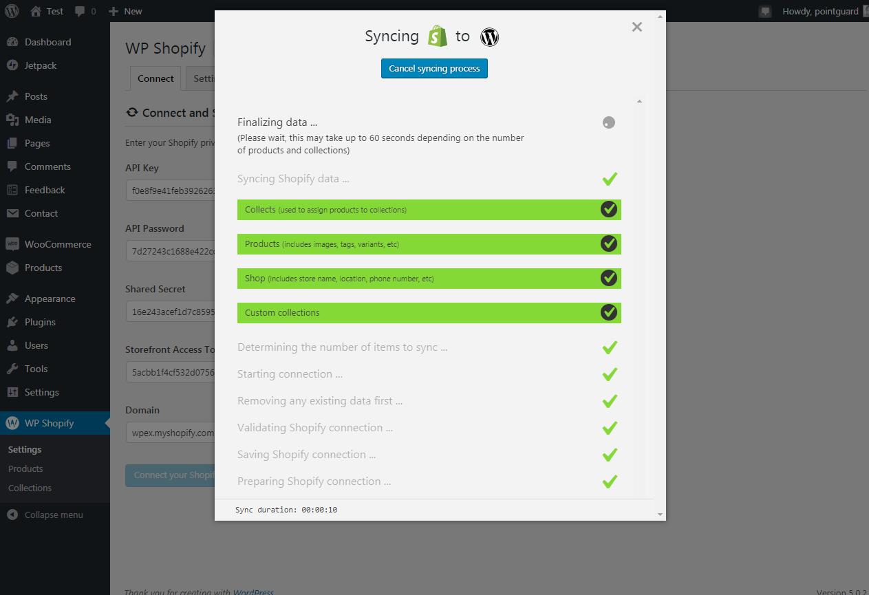 Shopify-ni WP Shopify ilə WordPress-ə necə əlavə etmək olar 13