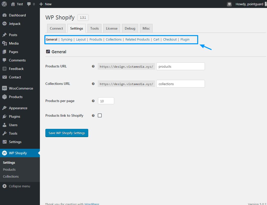 Shopify-ni WP Shopify ilə WordPress-ə necə əlavə etmək olar 16
