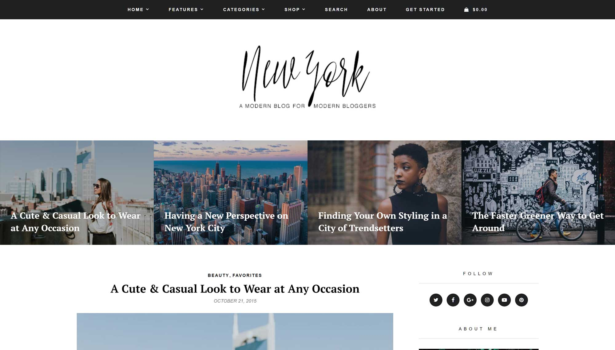 Chương trình chủ đề New York