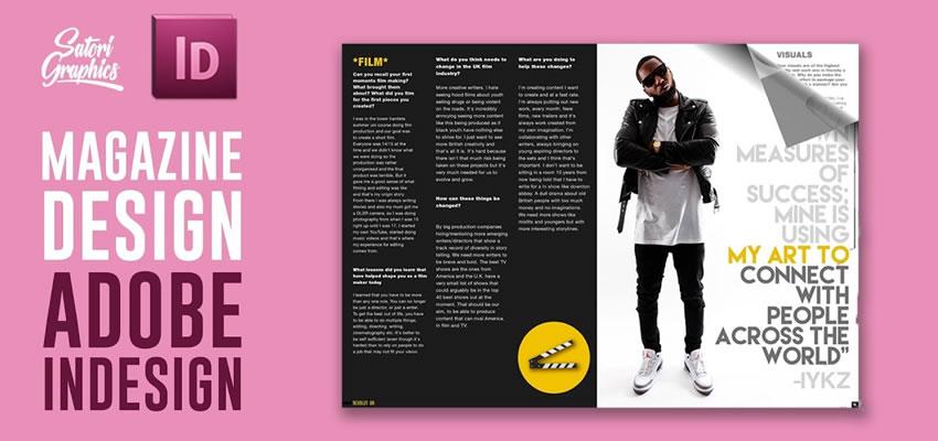 Ako vytvoriť rozloženie časopisu Adobe InDesign