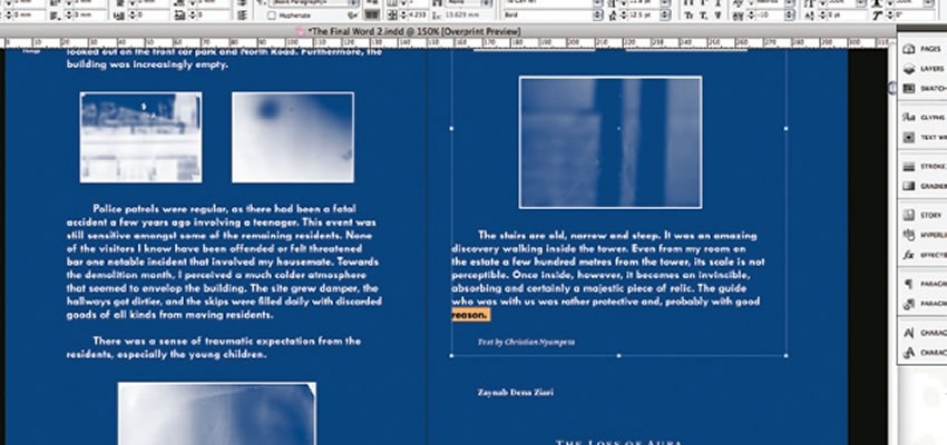 Navrhnite výrazné fádne návrhy v aplikácii Adobe InDesign