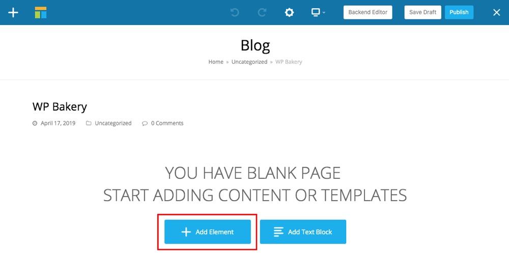 Bước khối nội dung tái sử dụng WPBakery 4