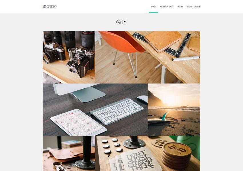 Gridby Parallax Grid wordpress miễn phí chủ đề đáp ứng wp sáng tạo cơ quan thiết kế danh mục đầu tư máy ảnh