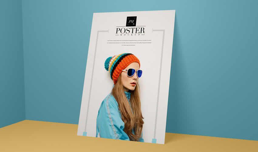 Hiện đại thương hiệu miễn phí photoshop poster psd mockup mẫu có thể chỉnh sửa tài liệu