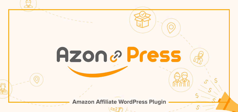 Filiallar üçün AzonPress WordPress Plugin Amazon