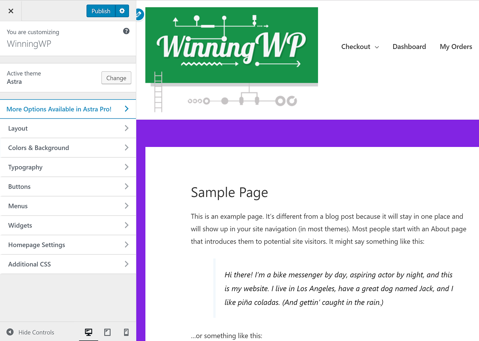 Tùy biến chủ đề WordPress