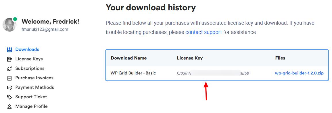 clave de licencia