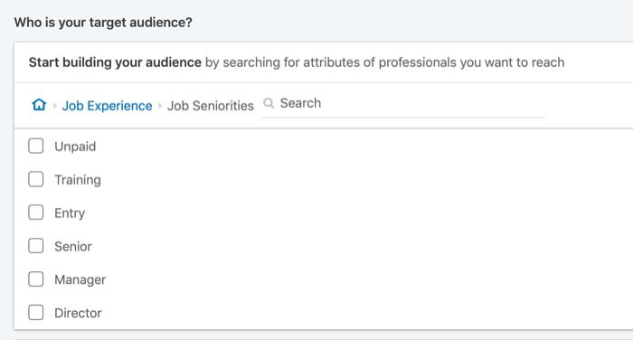 hədəfliyi LinkedIn reklamları