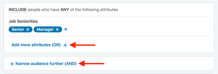 LinkedIn reklamlarını hədəfləmək üçün boolean axtarış operatorlarından istifadə edin