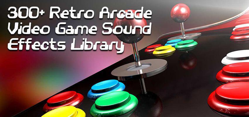 Paquete de efectos de sonido de juegos de arcade retro