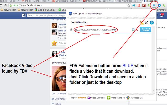 Descargar FDV Video. Imagen que muestra el video encontrado - Estrategia de blogs de YouTube
