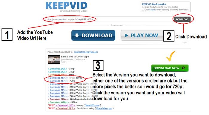 KeepVid - Videonu yüklə YouTube - Video strategiyası YouTube
