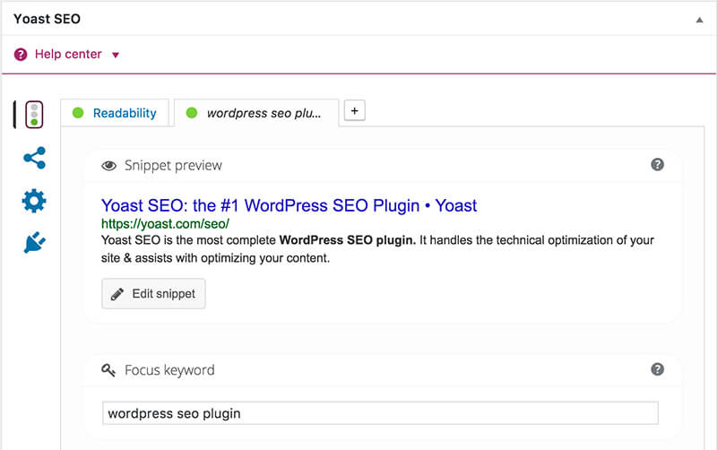 Blog SEO WordPress Plugin Yoast para optimizar su contenido