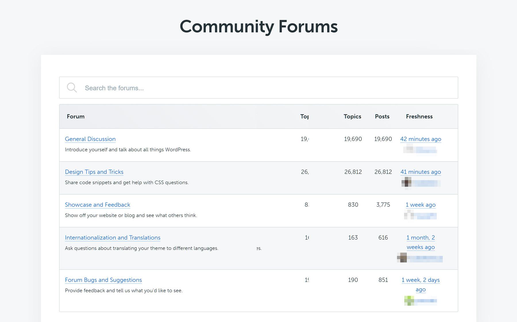 İcma dəstəyi forumları