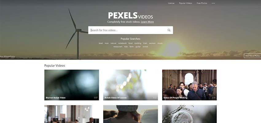 Fuente de video gratuita Videos HD 4K Pexels