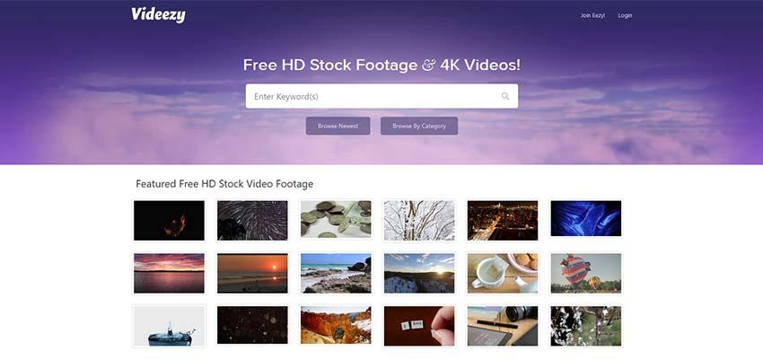 Fuente de video HD 4K Videezy gratuita