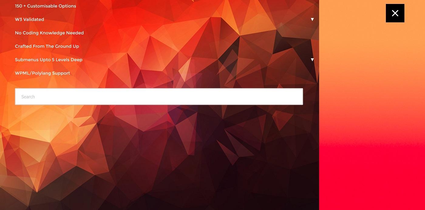 Cavab menyusu ilə yaradılan bir menyu ekranı