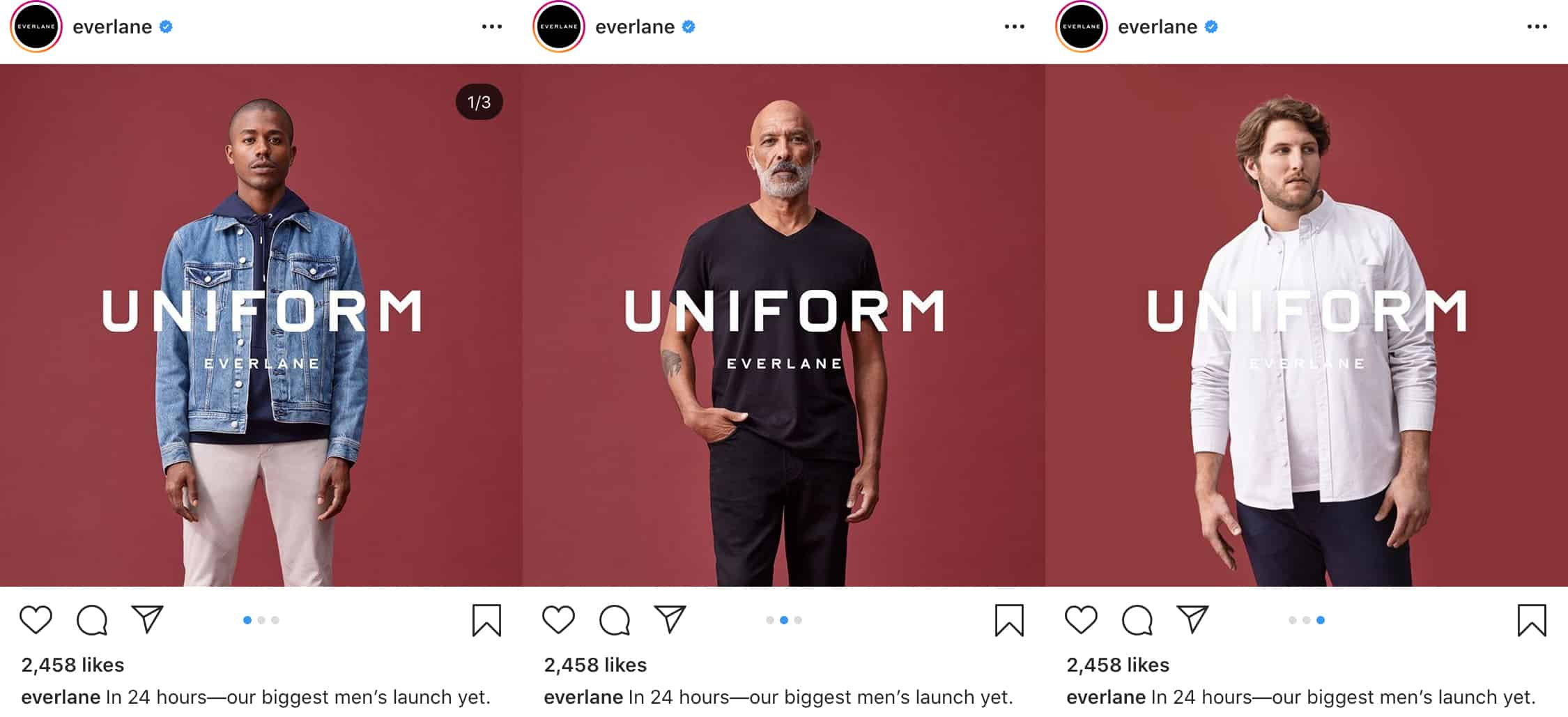 Fotos múltiples de Instagram por everlane