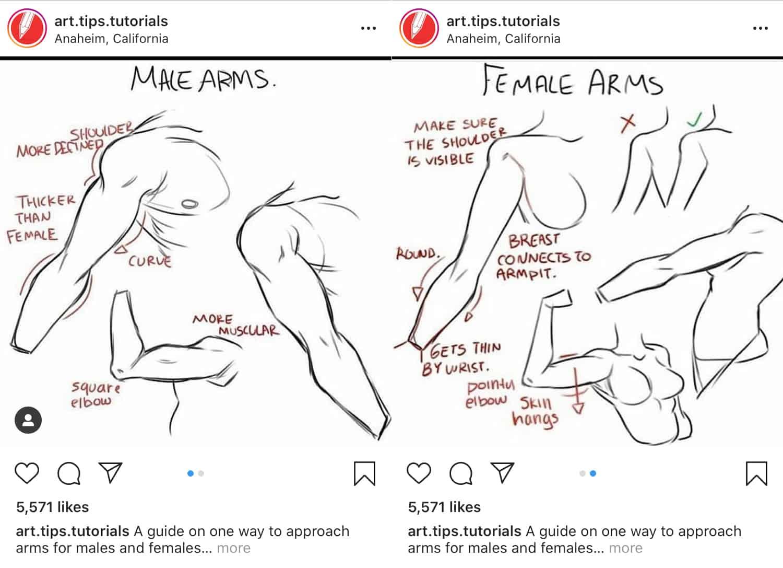 consejos y trucos a través del carrusel de Instagram