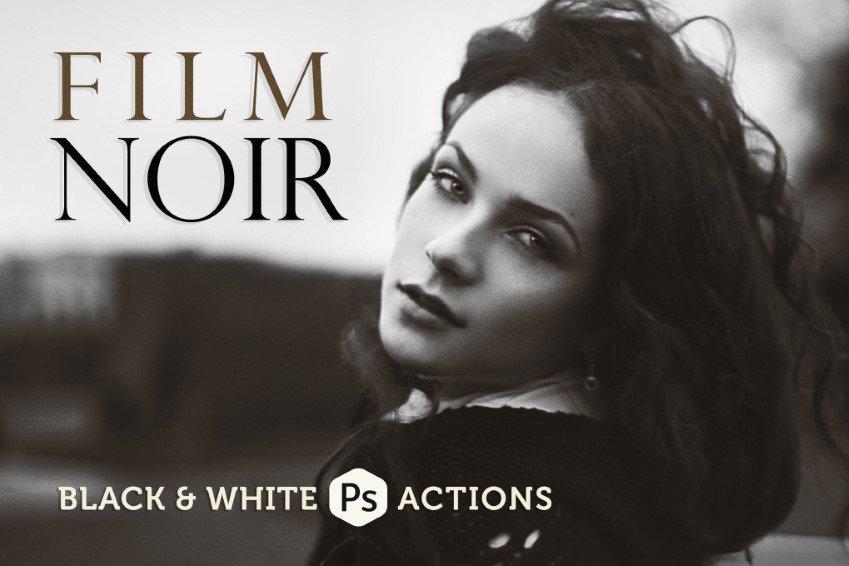 Promociones de Photoshop para películas antiguas