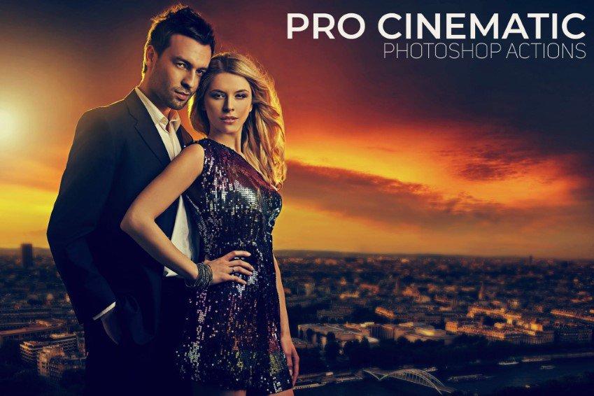 Campañas cinematográficas profesionales en Photoshop.