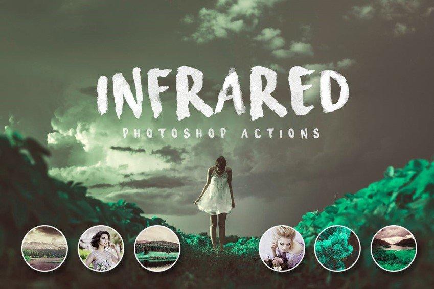 Campañas infrarrojas de Photoshop