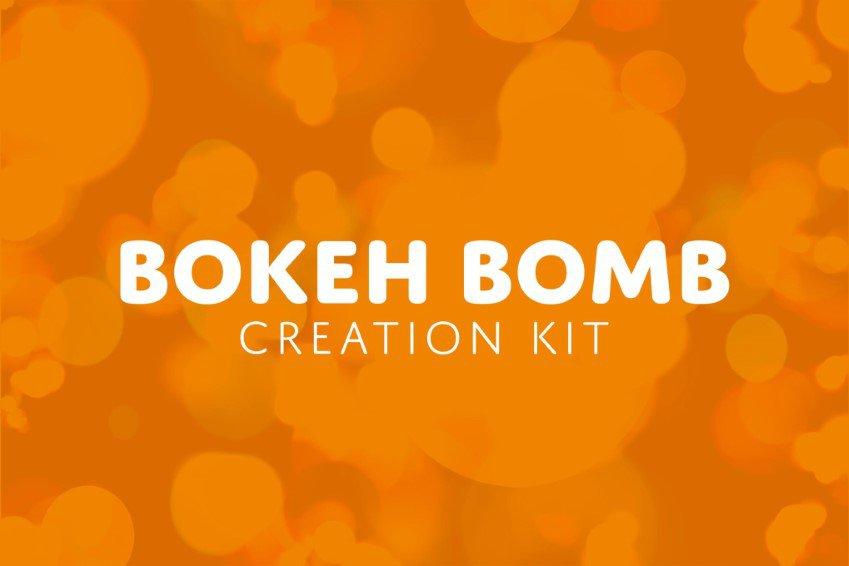 Bokeh Bomb Photoshop Creation Kit