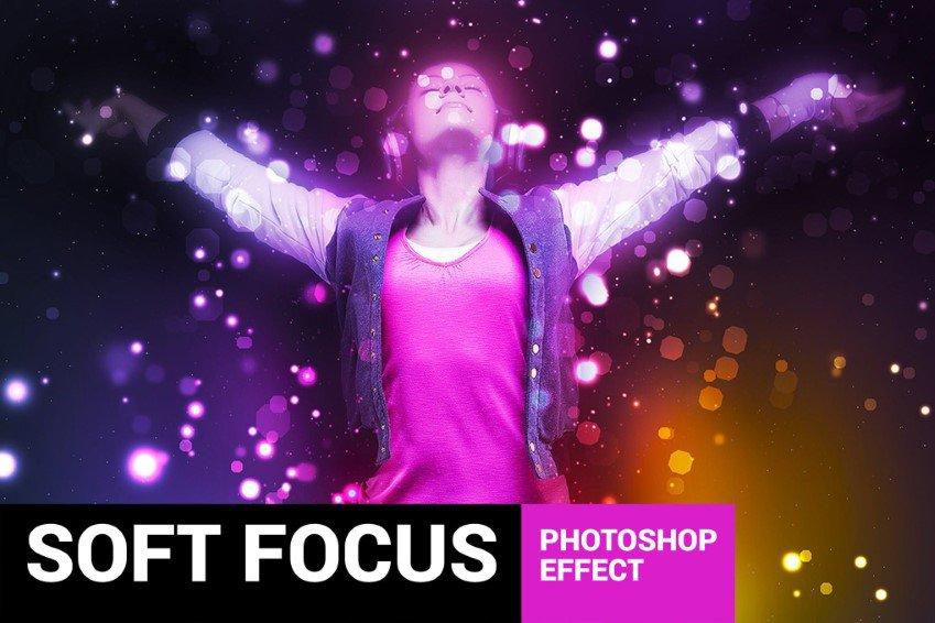 Photoshop-toiminto Brightum Soft Focus