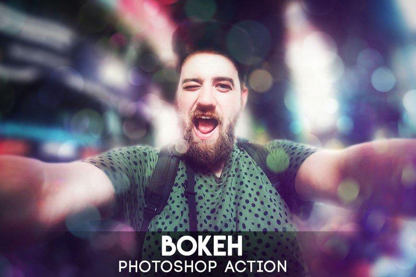 Bokeh Photoshop -toimet
