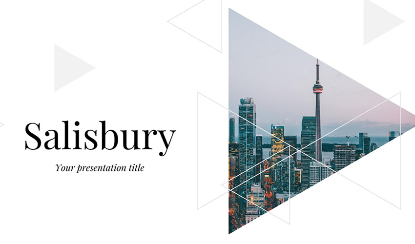 Plantilla de presentación del tema Salisbury Google Slides gratis