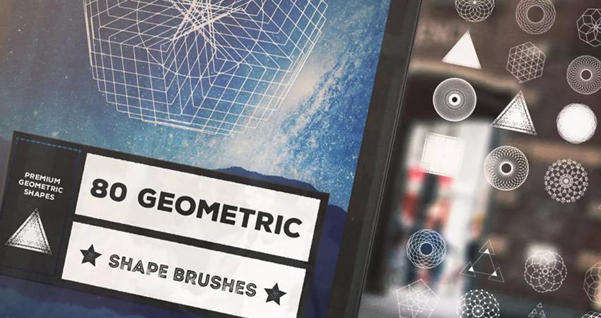 Adobe həndəsi toxuması ilə yumşaq və incə Photoshop fırçaları seçin